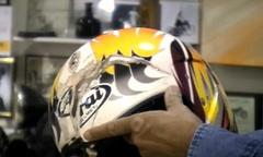 jay leno's awesome educative video on helmets [video]