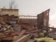Oklahoma Tornado Video: Watch horrific moment family emerges from storm shelter to see damage