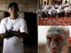 The face of El Salvador's gangs: 60,000 gang members on verge of war after court ruling threatens shaky truce between two warring factions