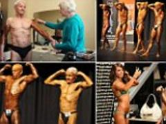 World's oldest bodybuilder: Pumping iron, the 83-year-old body builder who is taking on the boys at their own game