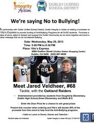 Jared Veldheer of Oakland Raiders To Speak Out Against Bullying