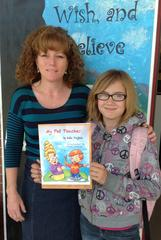 11-year-old glendora resident publishes her first book