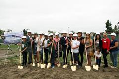 lynwood unified breaks ground on two school construction projects
