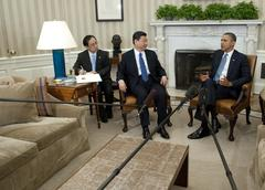 rancho mirage 'welcomes' historic meeting between obama, chinese president in town