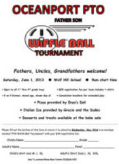 Oceanport Father Son Wiffle Ball Tournament is Back