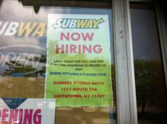 Hiring: Kings Park Subway