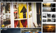 Yahoo unveils makeover of Flickr site