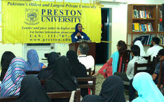 Preston University organises seminar on Social Media Revolution
