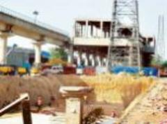 Gurgaon Rapid Metro construction slows down as project misses two deadlines