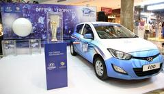hyundai motor commences the 'trophy tour' for icc champions trophy 2013