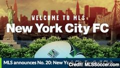 new york city football club latest mls expansion team