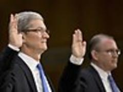 apple's cook faces grilling over tax